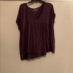 Miss short sleeve shirt